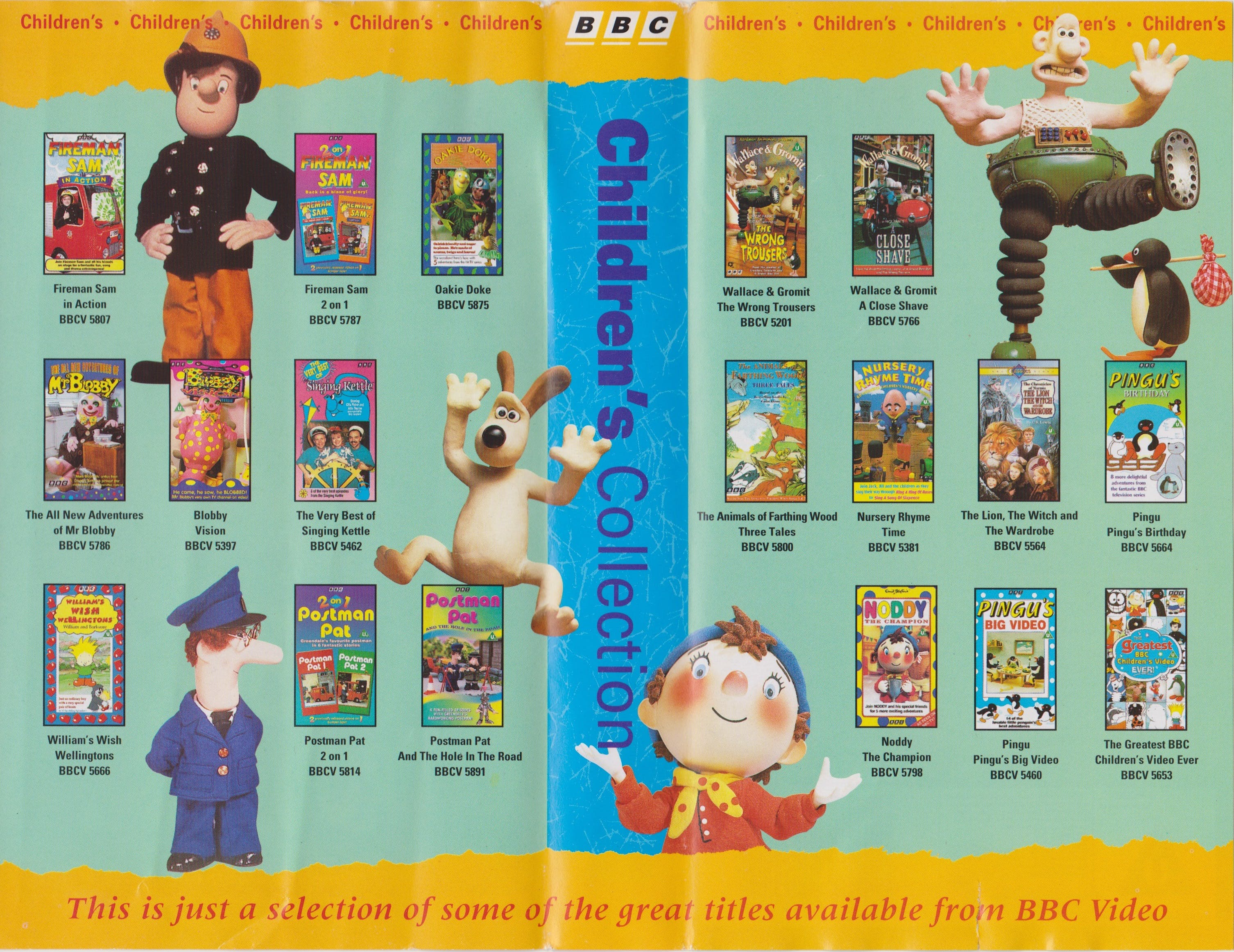 Bbc Children S Collection Catalogue 1994 Dan S Things