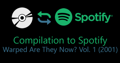 Warped Are They Now? Vol. 1 – Compilation to Spotify
