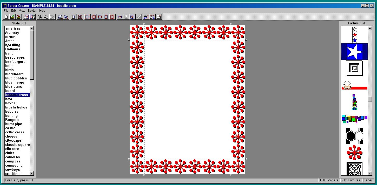 Border Creator 1 0 – Software Overview – Dan's Things