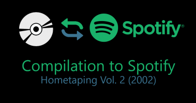 Hometaping Vol.2 – Compilation to Spotify