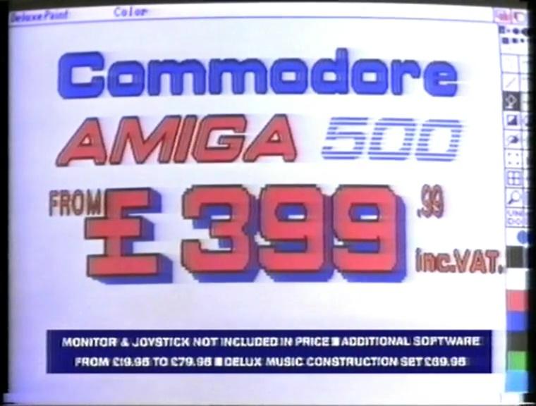 Commodore Amiga 500 'Computers Don't Need To Be Glum' TV
