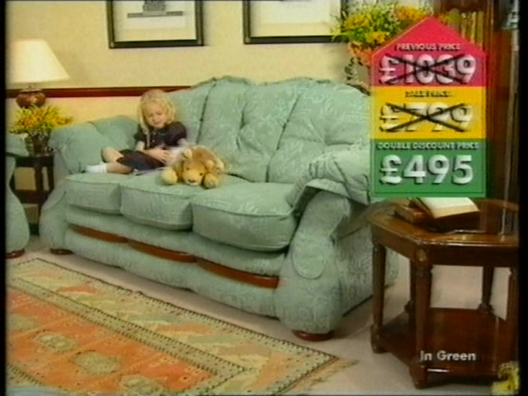 Peachy Dfs Double Discount Sale Tv Advert 1997 Dans Things Caraccident5 Cool Chair Designs And Ideas Caraccident5Info