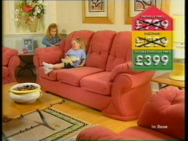 Groovy Dfs Double Discount Sale Tv Advert 1997 Dans Things Caraccident5 Cool Chair Designs And Ideas Caraccident5Info
