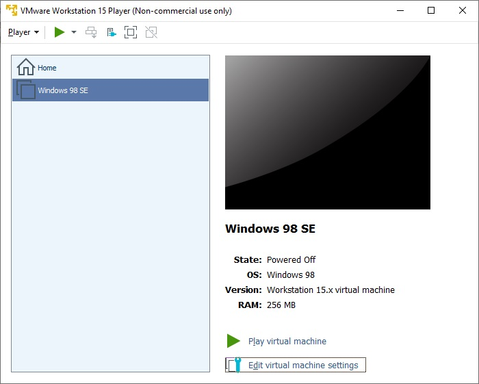How To Install Windows 98 Second Edition Virtual Machine